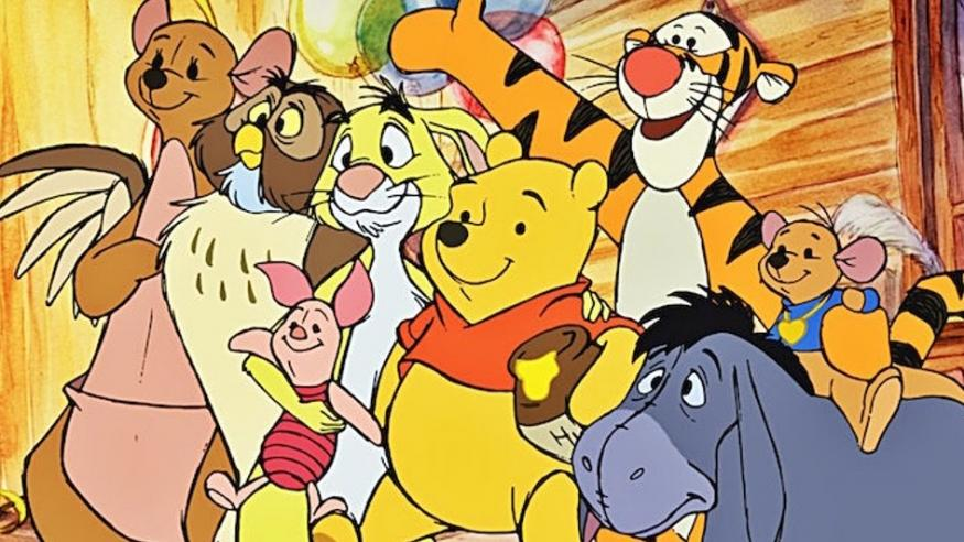 Characters in Winnie the Pooh represent mental disorders