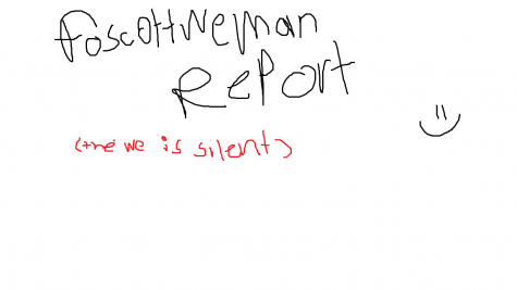 The Foscottweman Report, where the We is silent. Pt.6