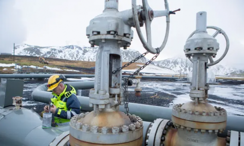 Iceland Plant Turns Carbon Dioxide To Stone